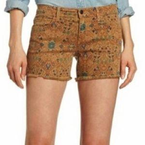 Joe's Jean's Sepia Brown Floral Shorts